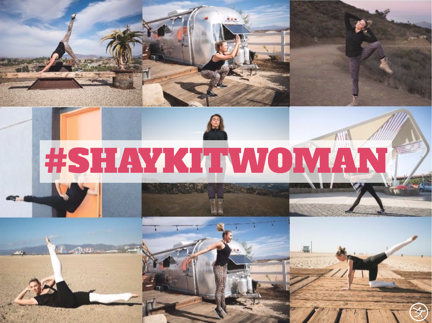 #SHAYKITWOMAN 2016:  Get your Guide of Mini Adventure Workouts for the Busy Woman (anytime, anywhere)!