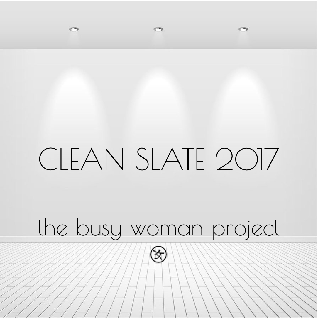 #CLEANSLATE2017 Challenge: 4-week initiative to kickstart the New Year right, TOGETHER!