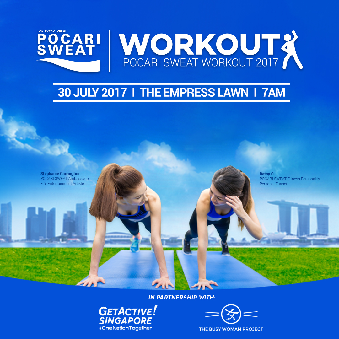 Pocari Sweat Workout Event