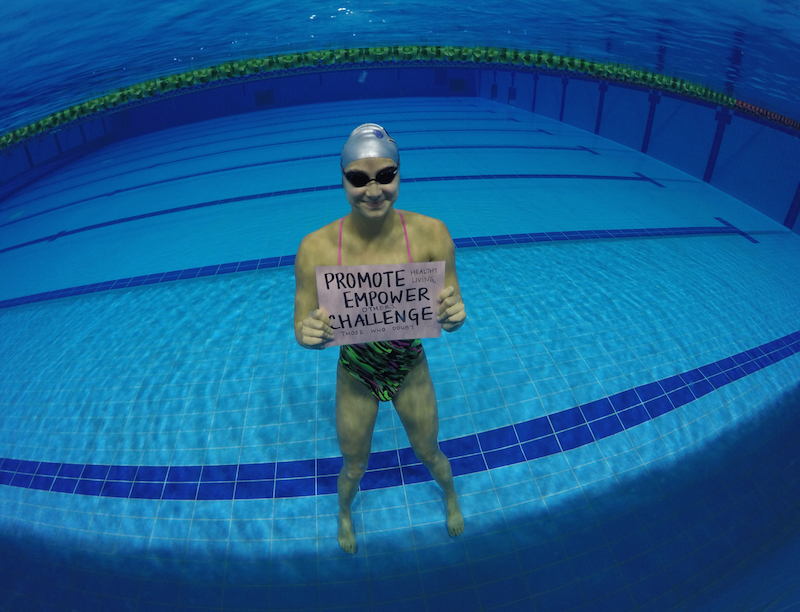 #livingmypurpose: Olympic Athlete, Swimmer Camille Cheng, Hong Kong