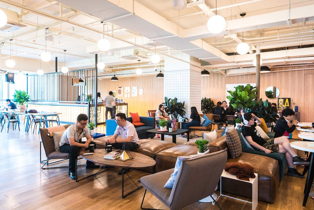 WeWork Singapore Coworking Space