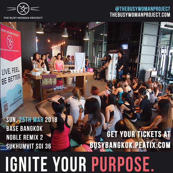 [EVENT] Ignite Your Purpose: #teambusywoman in Bangkok