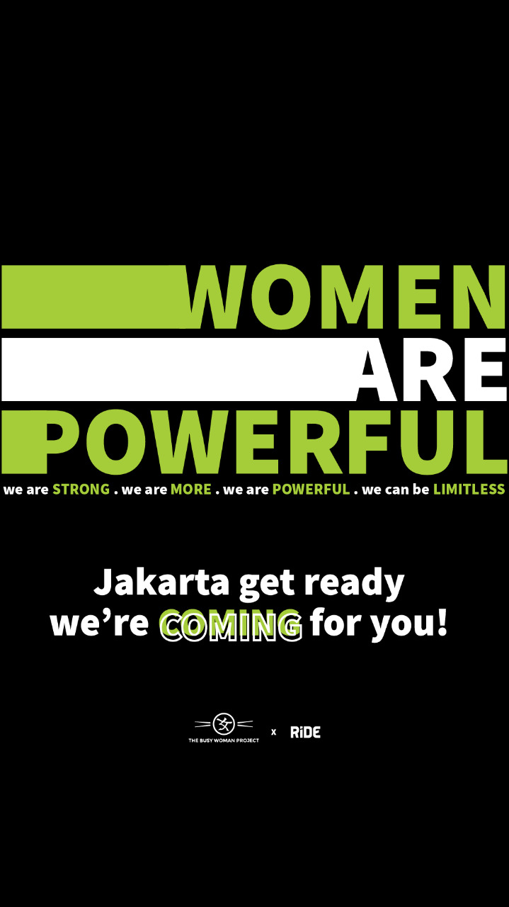 the busy woman project jakarta indonesia