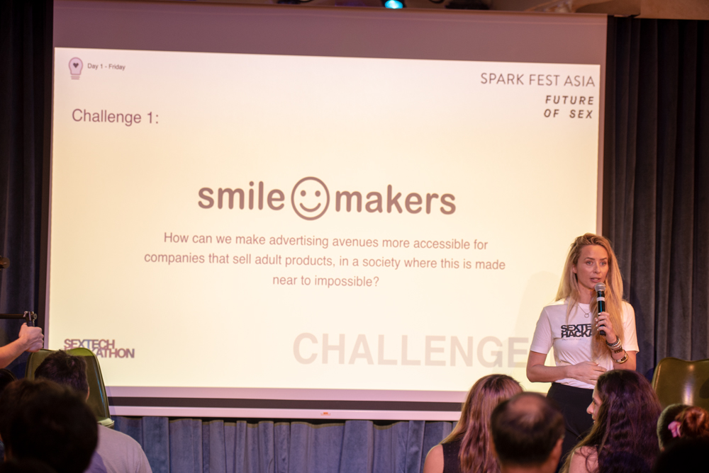 smile makers sextech hackathon