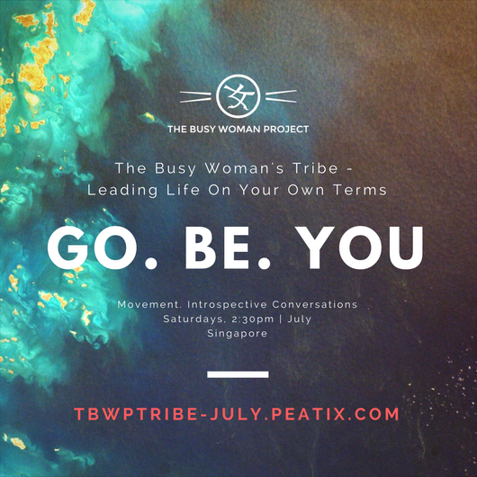 the busy woman tribe leading life on your own terms