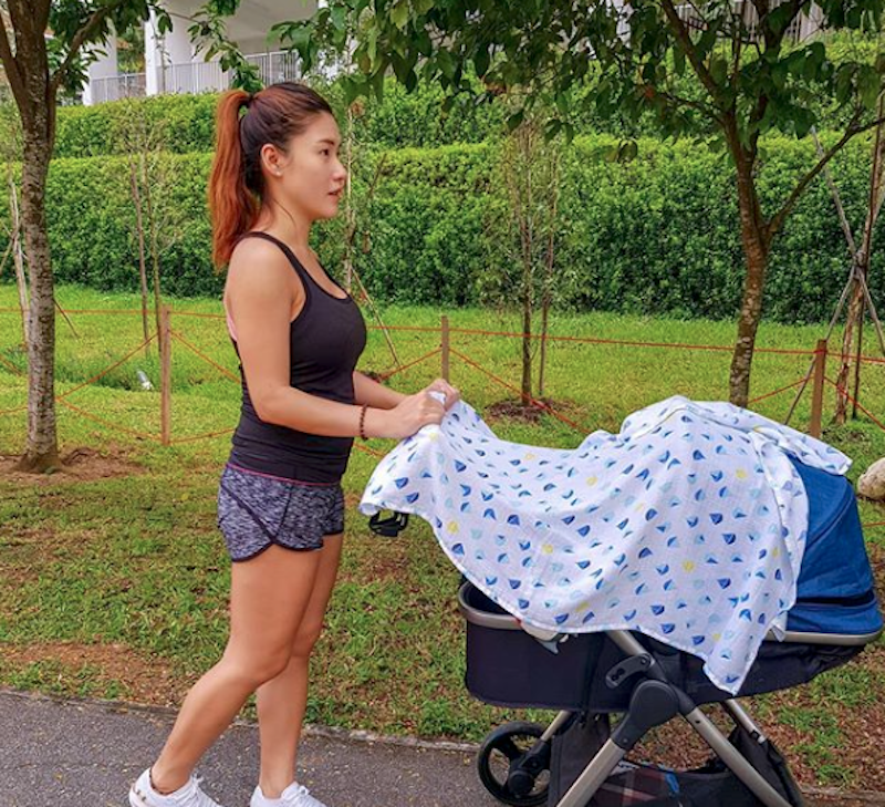 victoria lim thepinksoldier new mother fitness